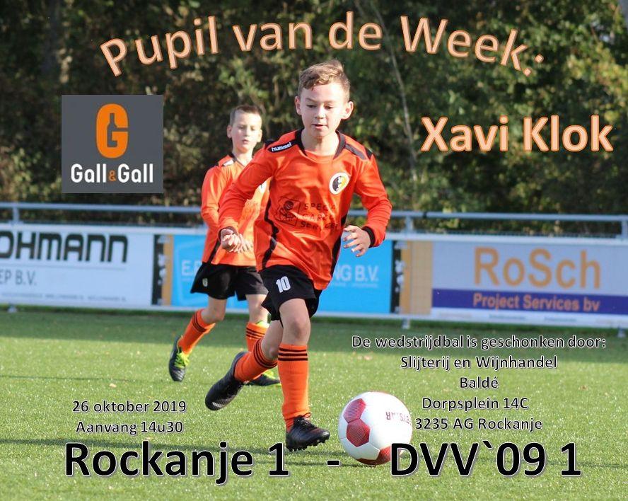 Pupil van de week: Xavi Klok