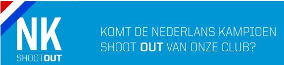 Komt de Nederlandskampioen shootout van onze club