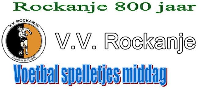Rockanje 800-jaar voetbalspelletjesmiddag VV Rockanje
